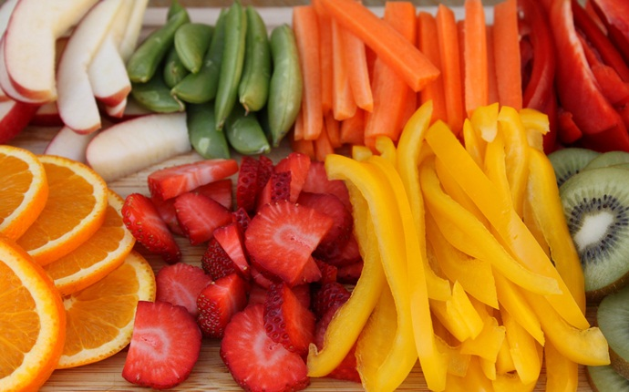 Fruit and Vegetable Strips dog food recipes
