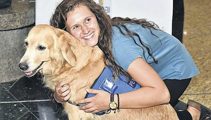Therapy dogs to sniff out your fear_1