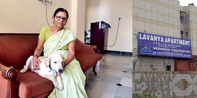 Family In Noida Being Forced To Vacate Flat For Keeping A Pet Dog